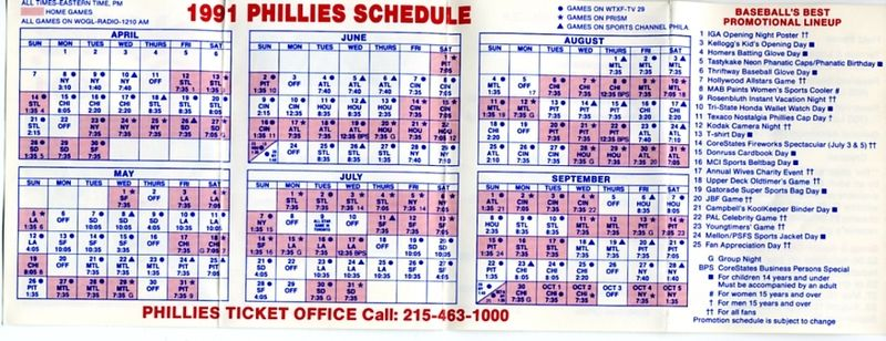 1991 pocket schedule003